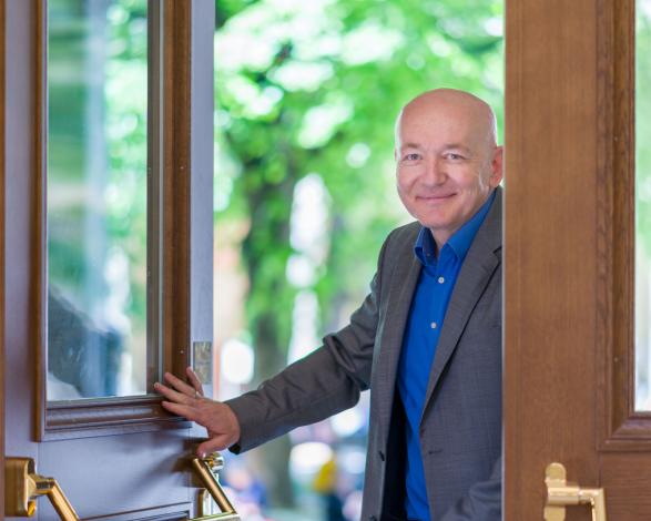 Roland Hafner-Harnisch als Türöffner